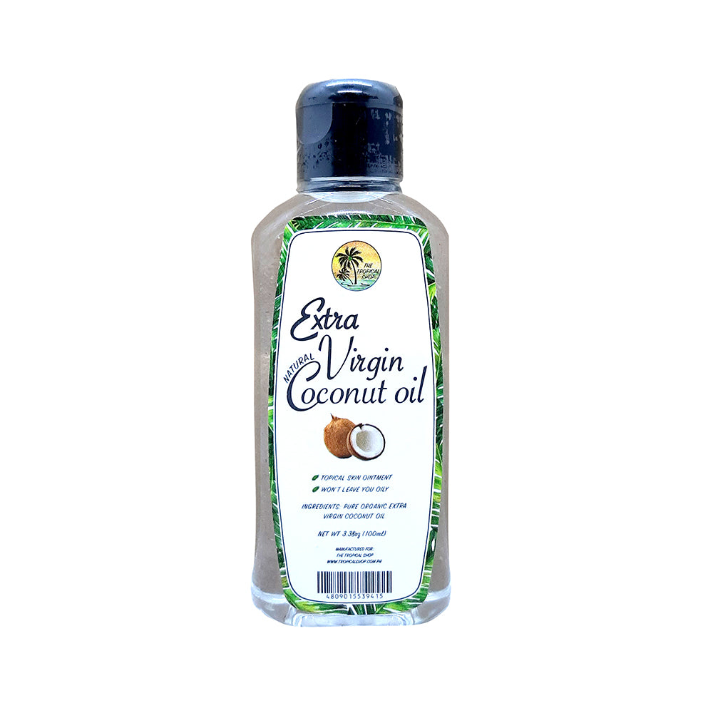 The Tropical Shop | Natural Extra Virgin Coconut Oil - 100mL