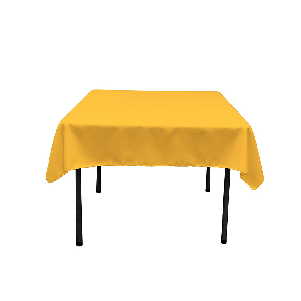 "Polyester Poplin Square Tablecloth, 58"" x 58"" Choose Color Below"