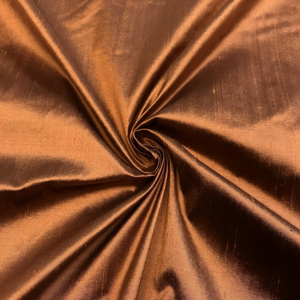 "Cooper 100% Pure Silk Shantung Fabric 54""Wide BTY Drape Blouse Dress Craft Sold By The Yard."