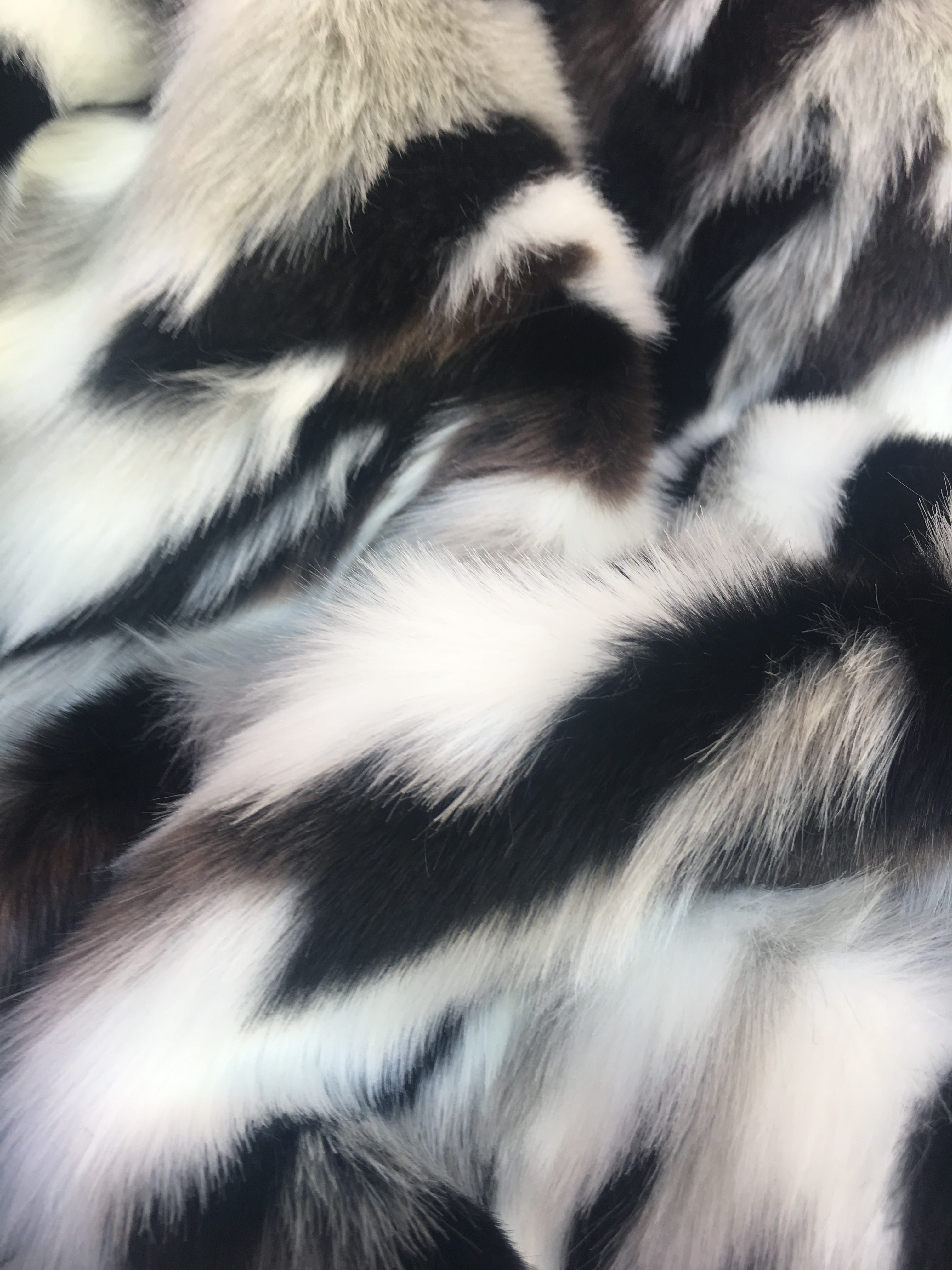 Camouflage Fake Fur Fabric / Army Stone / Sold By The Yard - KINGDOM OF FABRICS