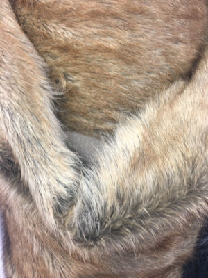 Faux Fake Fur Animal Short Pile Coat Costume Fabric / Rabbit/ Sold By The Yard