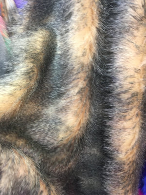 Faux Fake Fur Animal Coat Costume Fabric / Top Exotic Designs # 5 / Sold By The Yard