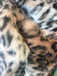 Faux Fake Fur Animal Coat Costume Fabric / Top Exotic Designs # 2/ Sold By The Yard