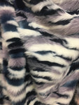 Camouflage Fake Fur Fabric / Army Glacier / Sold By The Yard - KINGDOM OF FABRICS