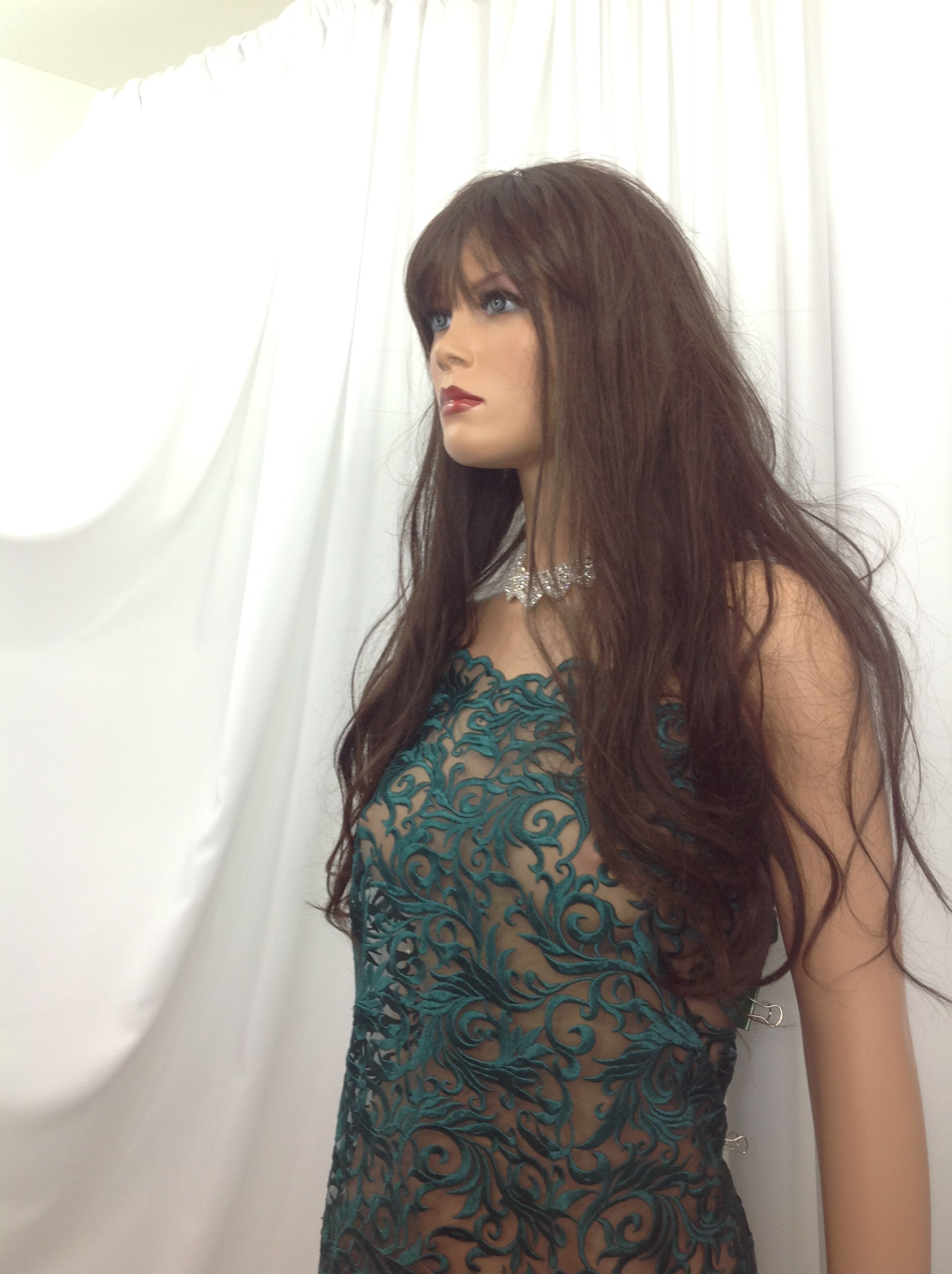 Precious Design Green Guipure Lace - Mesh Dress Top-Trim Bridal Wedding Decorations By The Yard