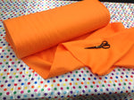 "Solid Acrylic Felt Fabric - TANGERINE - Sold By The Yard - 72"" Width - KINGDOM OF FABRICS"