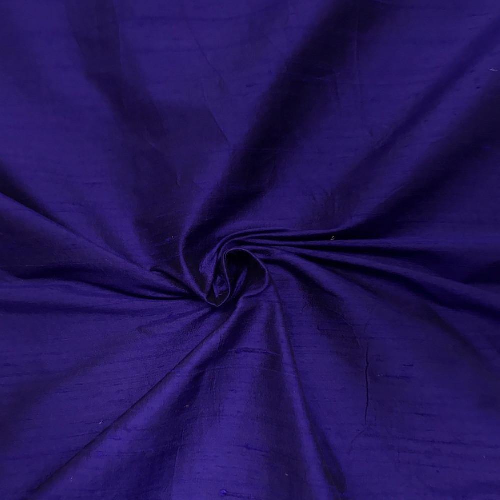 "Purple 100% Pure Silk Dupioni Fabric 54""Wide BTY Drape Blouse Dress Craft Sold By The Yard."