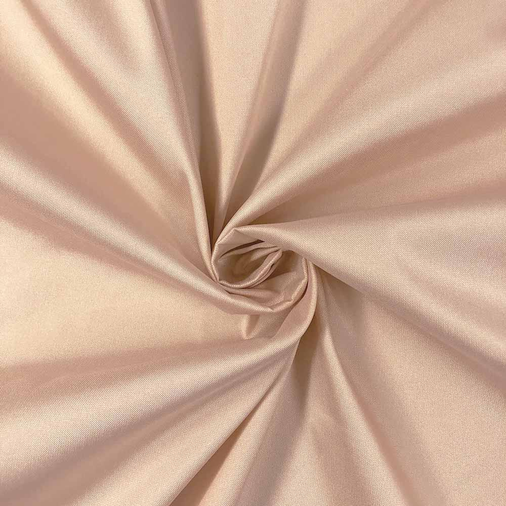 "Nude Polyester Taffeta Lining Fabric 54"" Wide Fabric Sold By The Yard."