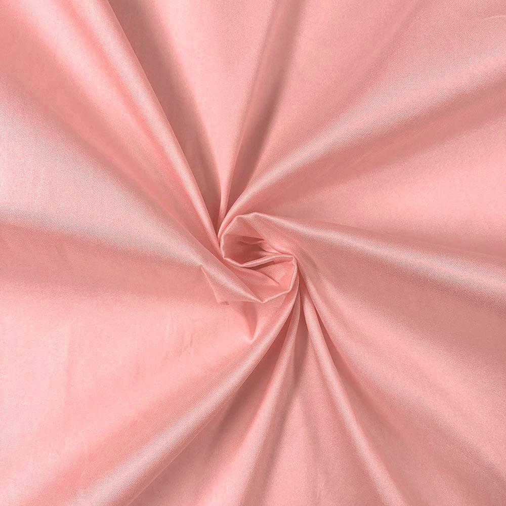 "Pink Polyester Taffeta Lining Fabric 54"" Wide Fabric Sold By The Yard."