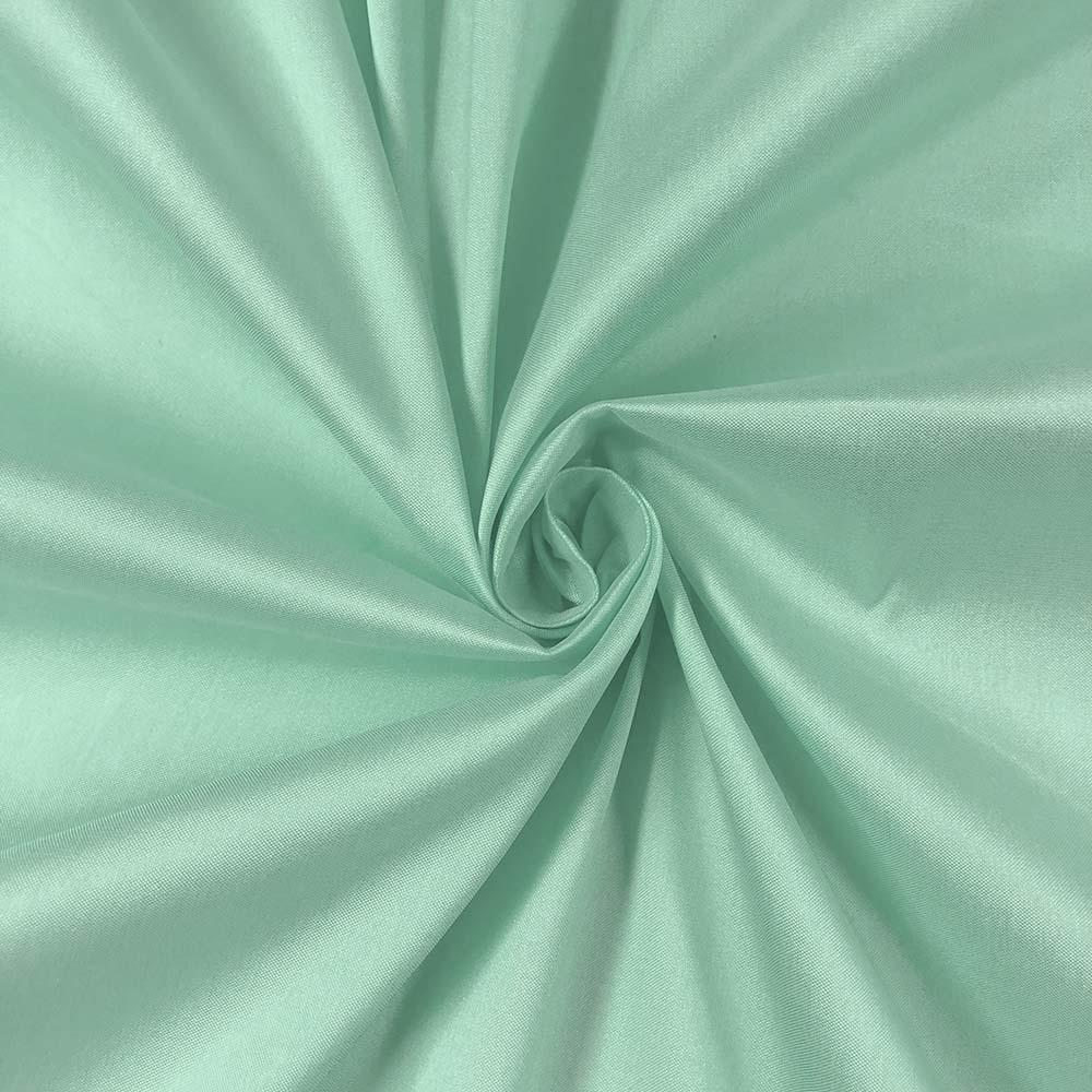 "Mint Polyester Taffeta Lining Fabric 54"" Wide Fabric Sold By The Yard."