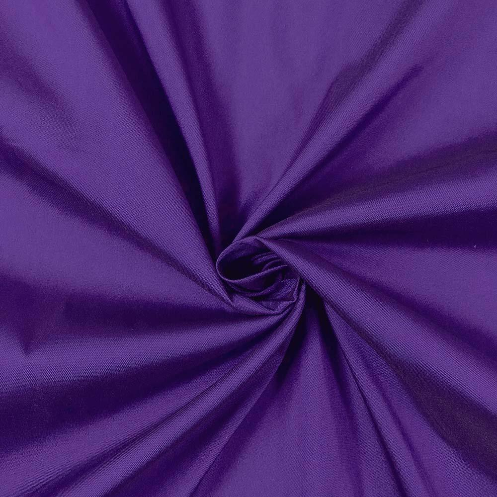 "Purple Polyester Taffeta Lining Fabric 54"" Wide Fabric Sold By The Yard."