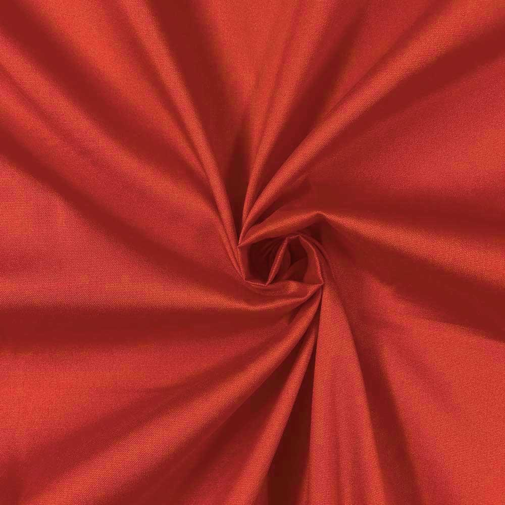 "Red Polyester Taffeta Lining Fabric 54"" Wide Fabric Sold By The Yard."