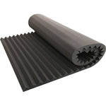 "Acoustic Foam 2"" Thick Wedge Style 8ft X 6ft Sheet (48 Sqft) - KINGDOM OF FABRICS"