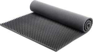 "SOUNDPROOF FOAM PROFESSIONAL ACOUSTICS FOAM 2.5"" ACOUSTIC FOAM EGG CRATE - 2-1/2"" X 72"" X 80"" COVERS 40SQ FT - KINGDOM OF FABRICS"