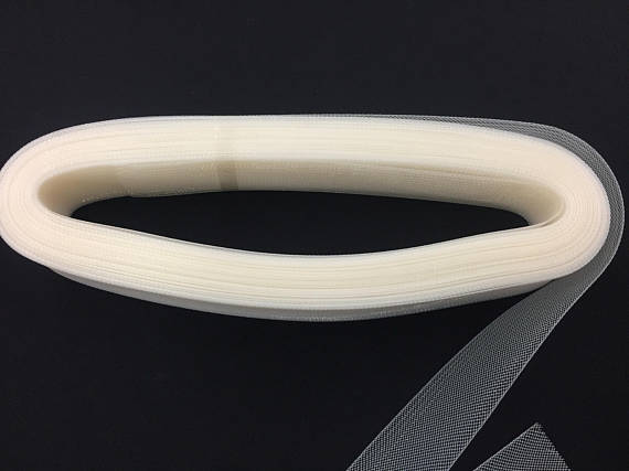 Horsehair - 2 Inch Ivory Crinoline Braid Trim For Wedding Bridal Prom Decorations 10 Yards - KINGDOM OF FABRICS