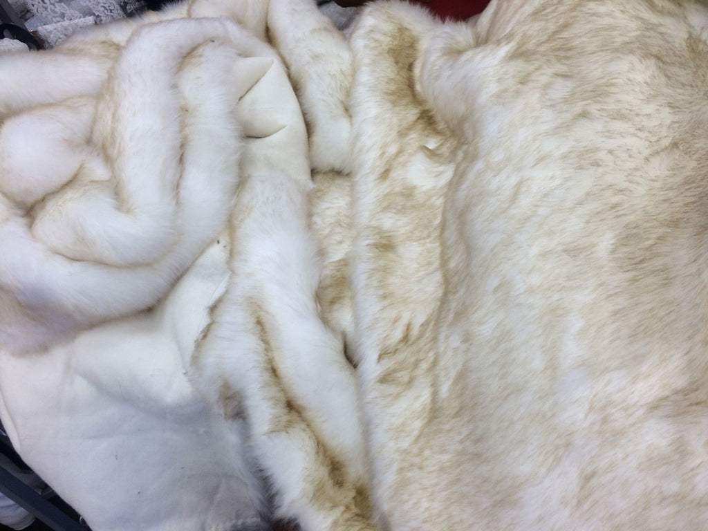 "Fake Fur 72"" Animal Print Two Tone Fur. Sold By Yard - KINGDOM OF FABRICS"