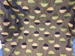 Chenille Upholstery Drapery Geometric Luxury Circles Decorating Fabric By Yard - KINGDOM OF FABRICS