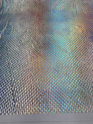 Mermaid Fabric Fish Tail Scale Sparkle Hologram Spandex Múlti-Color By The Yard - KINGDOM OF FABRICS