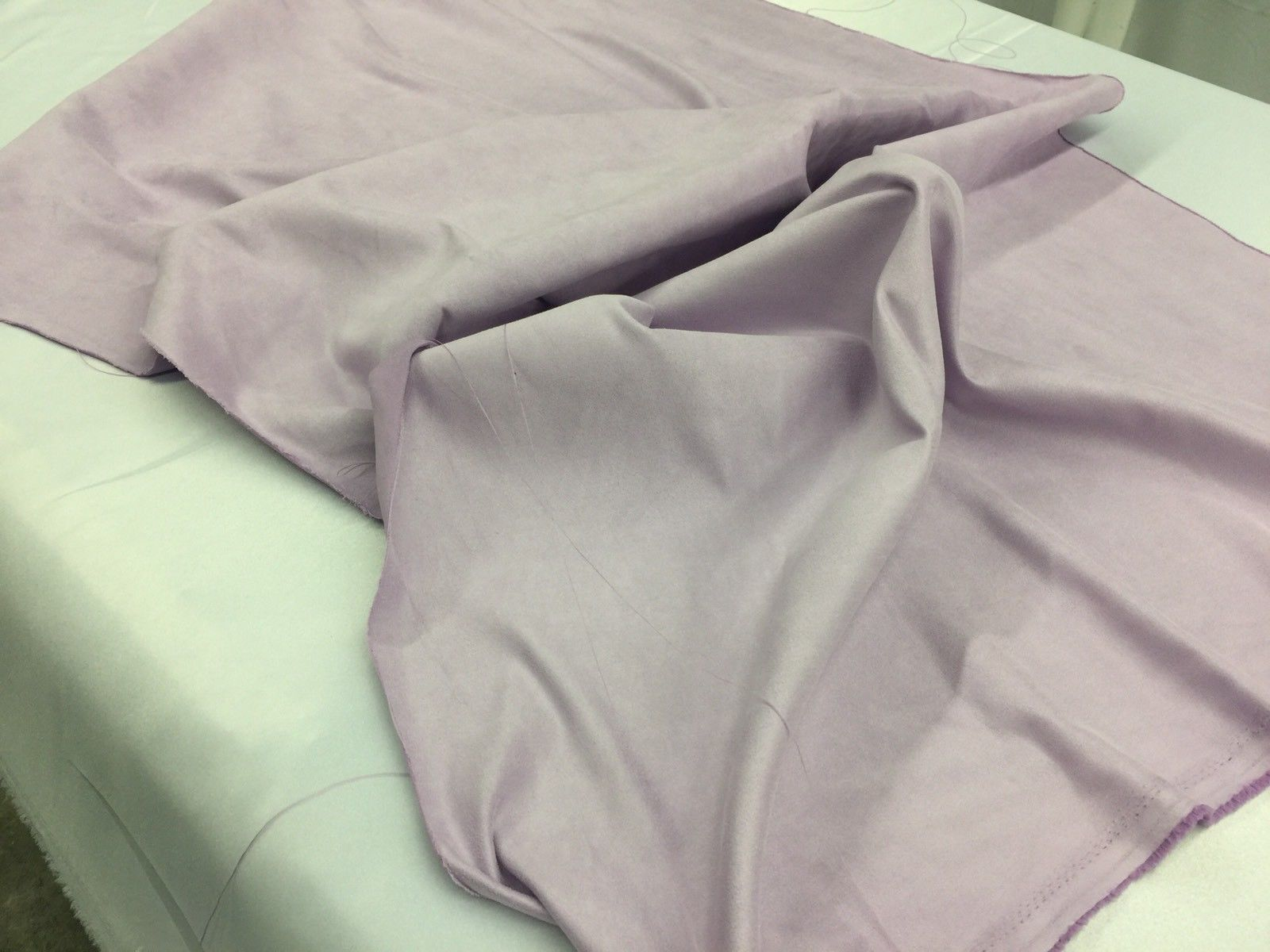 Microfiber Suede Fabric Upholstery Lilac By Yard - KINGDOM OF FABRICS