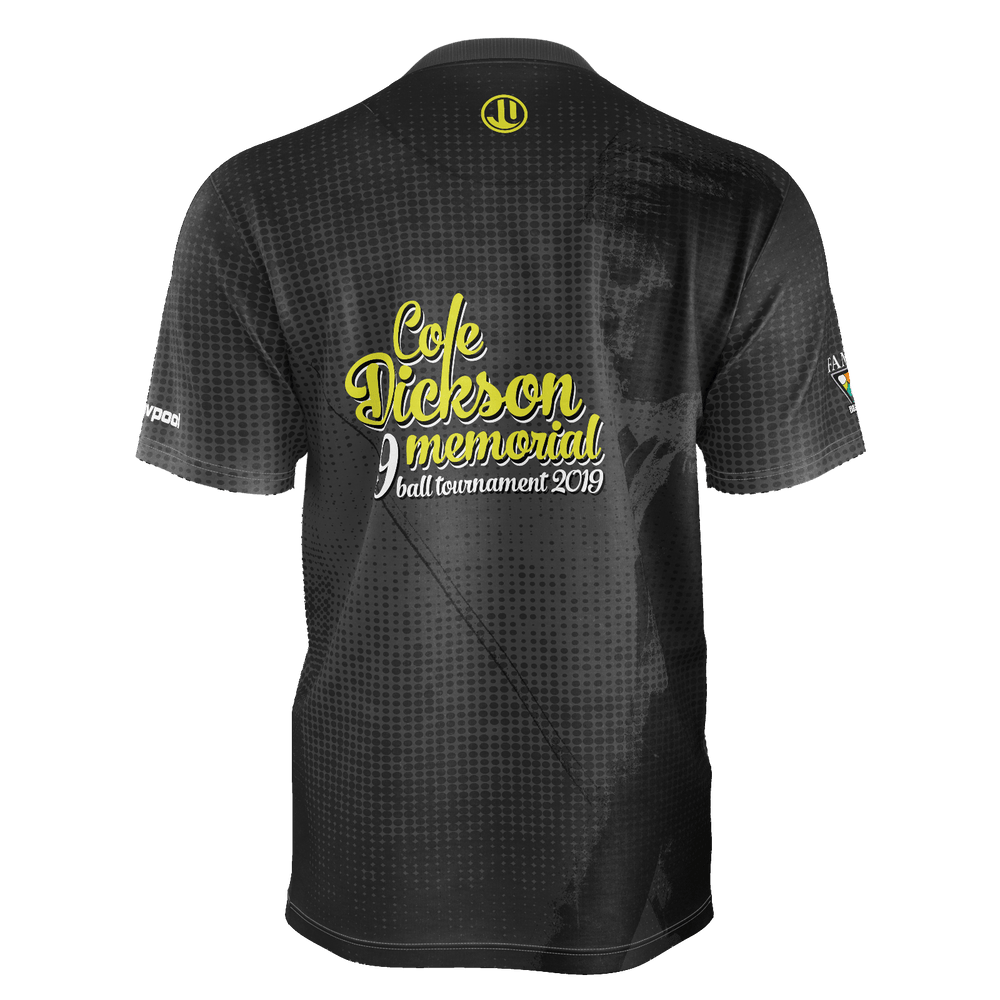 Cole Dickson Memorial Sublimated Crewneck Tee