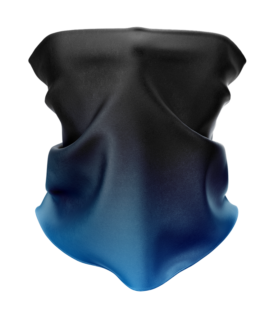 Blue Gradient Neck Gaiter - MADE IN THE USA 🇺🇸🇺🇸