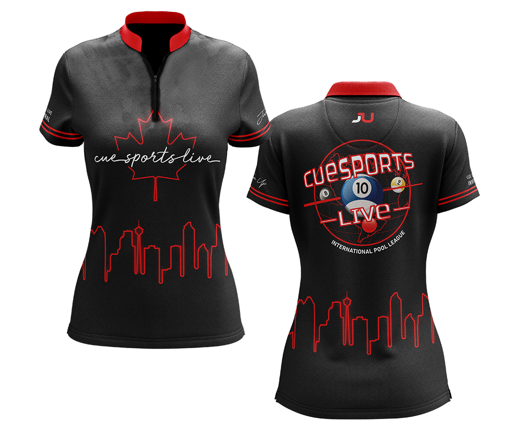 Cue Sports Live 2020 Skyline Jersey- Made in the USA 🇺🇸