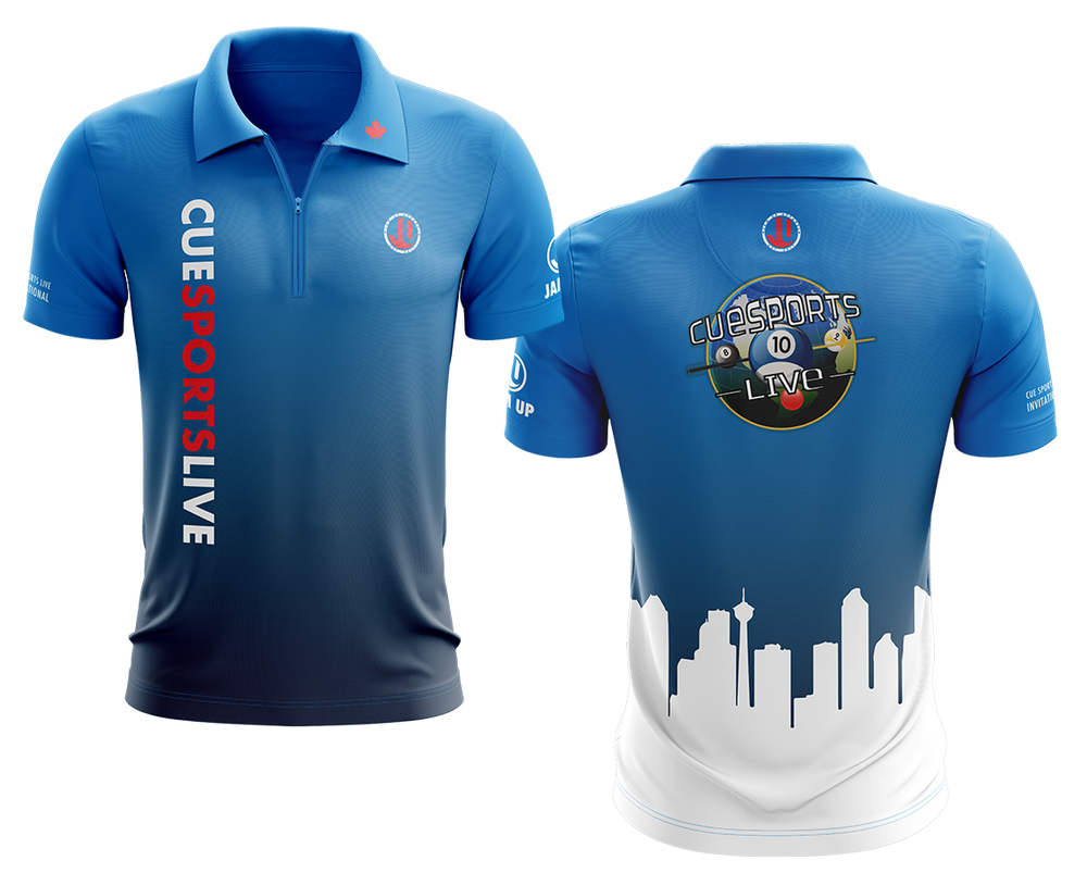CSL Invitational Zipper neck Polo - Limited Edition -