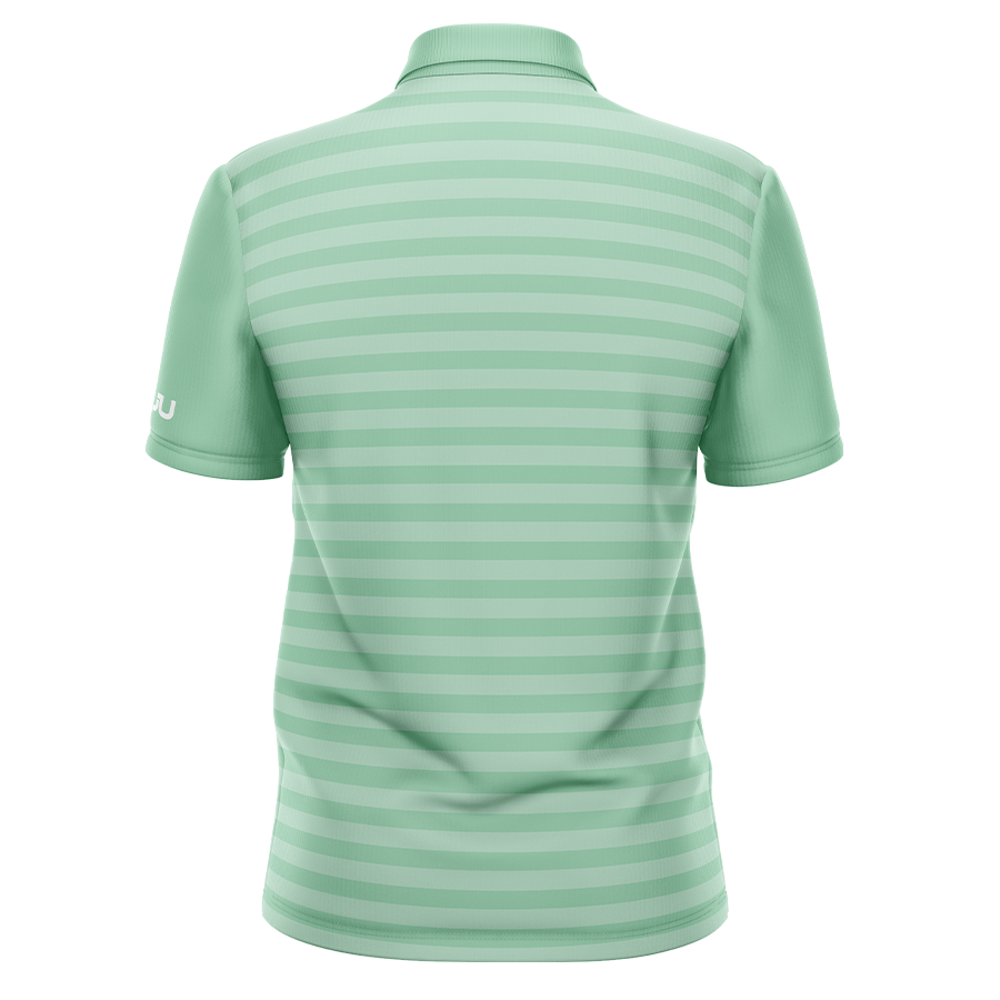 PREORDER: The Crosswalk Mint Sublimated Golf Shirt - Made in the USA 🇺🇸