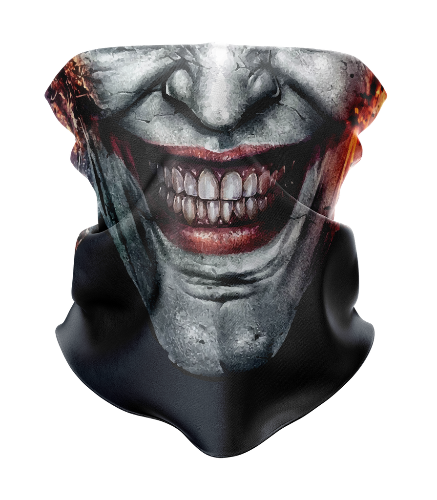 Joker Face Neck Gaiter - MADE IN THE USA 🇺🇸🇺🇸