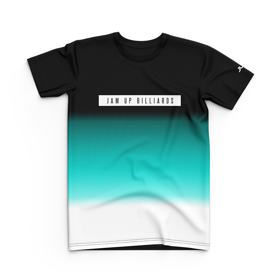 Jam Up Junior Tri-color Aqua Tee
