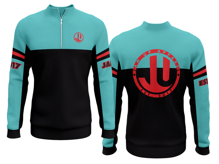 Luxe Quarter Zip Long Sleeve Jersey