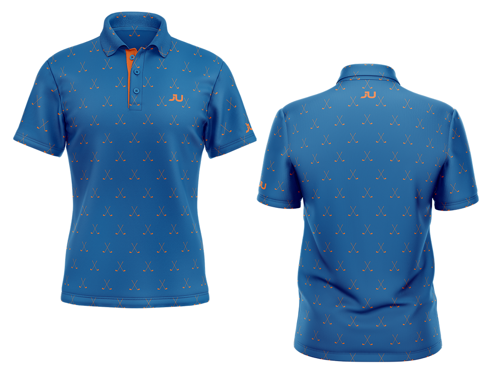 PREORDER: The Putter Sublimated Golf Shirt - Made in the USA 🇺🇸