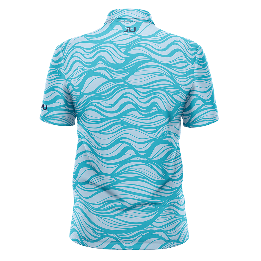 PREORDER: The Waver Sublimated Golf Shirt - Made in the USA 🇺🇸