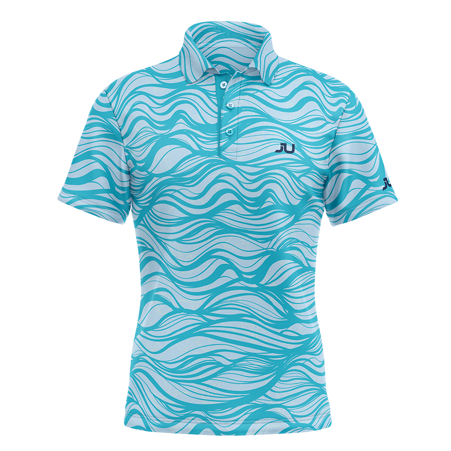 The Waver Sublimated Golf Shirt - Made in the USA 🇺🇸