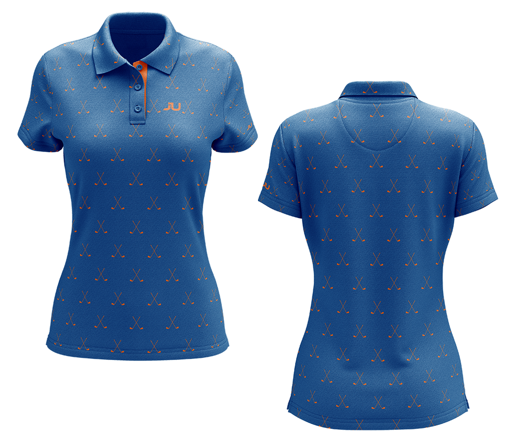 The Putter Women's Sublimated Golf Shirt - Made in the USA 🇺🇸