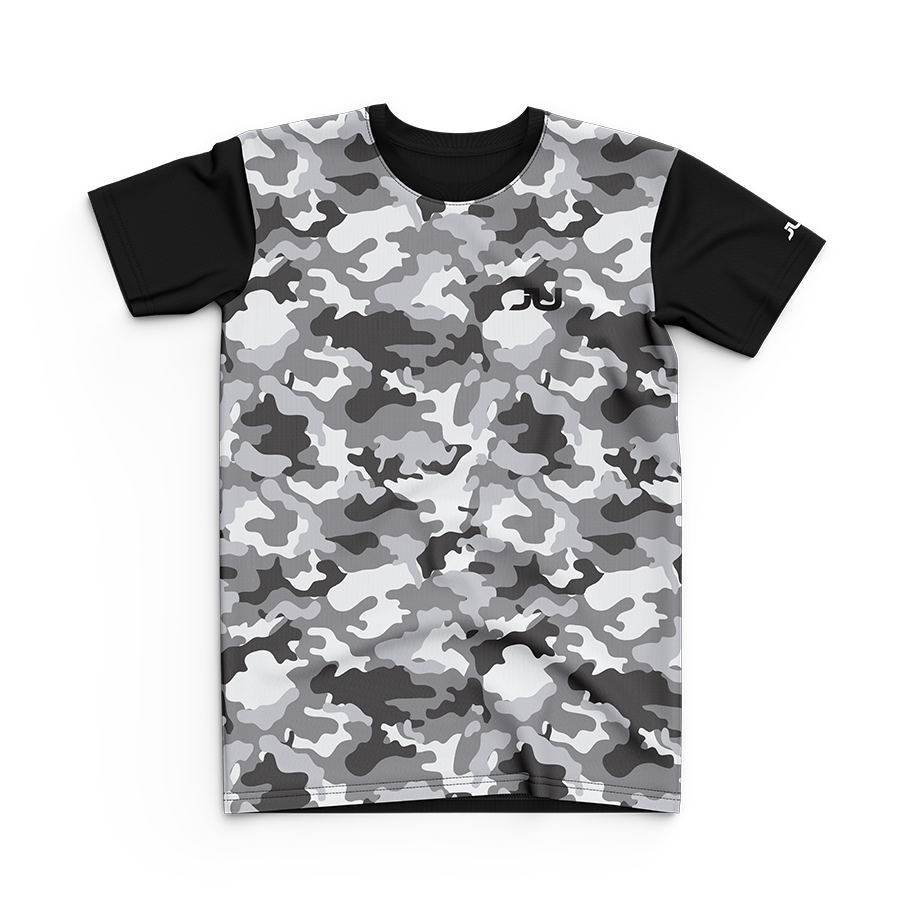 Jam Up Junior Gray Camo Sublimated Tee