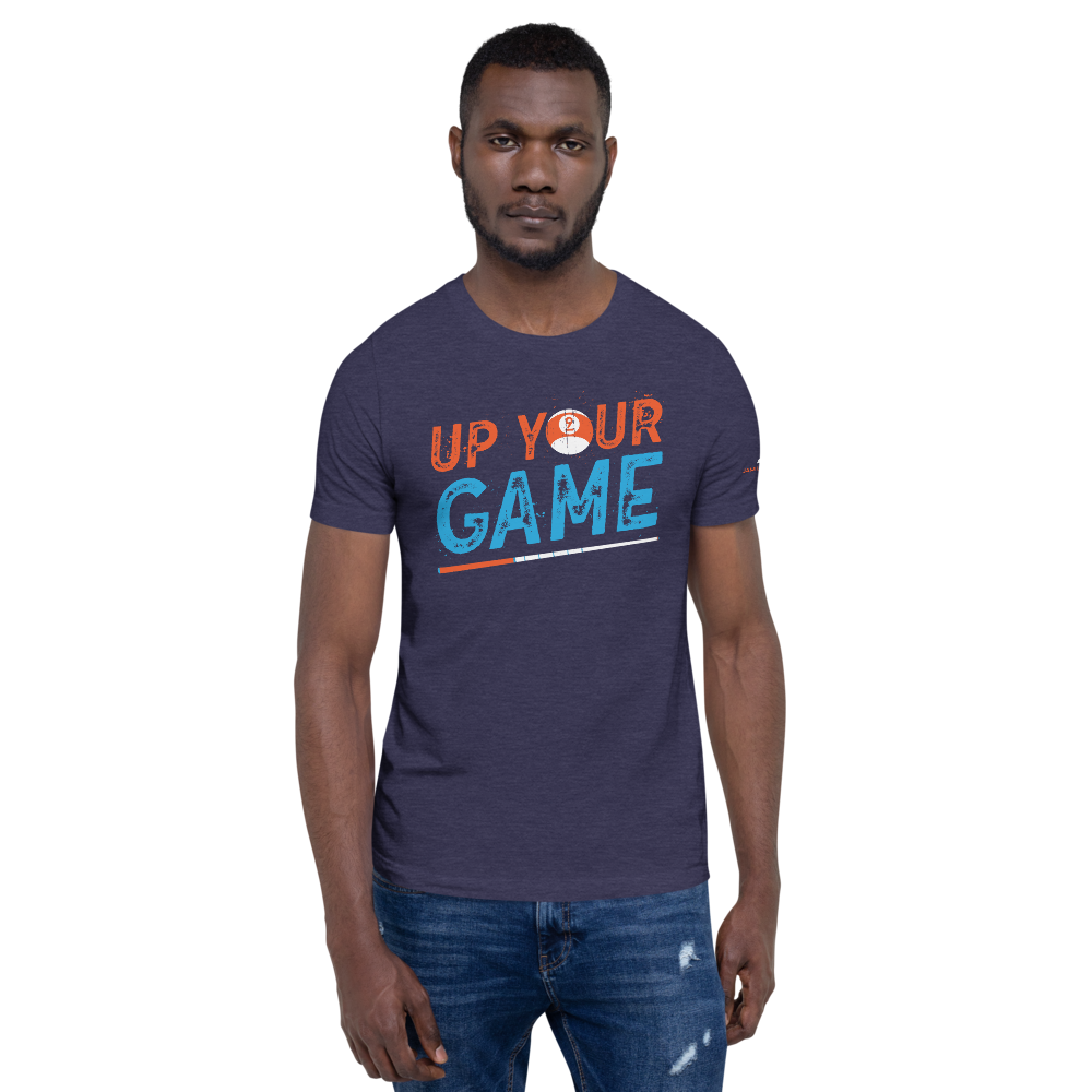Up Your Game Splatter Short-Sleeve Unisex T-Shirt