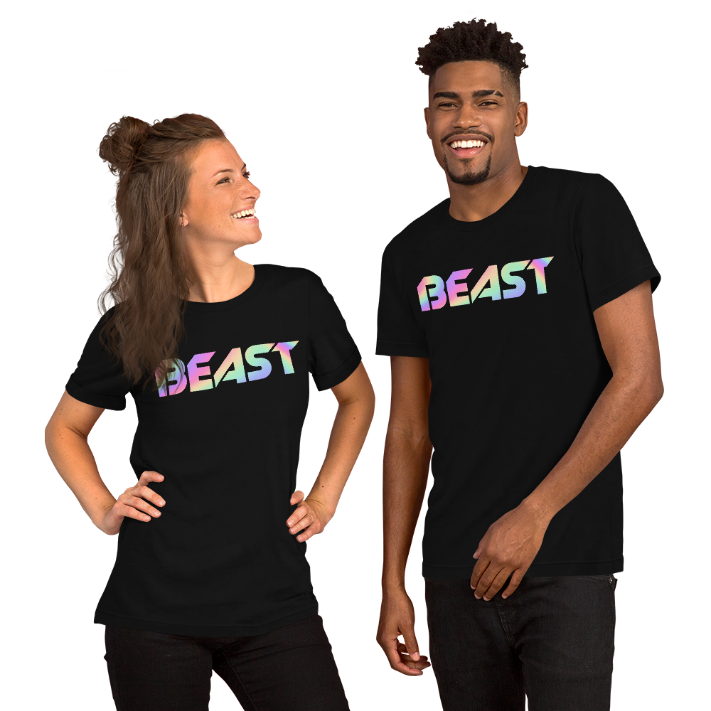 Beast Hologram Short-Sleeve Unisex T-Shirt