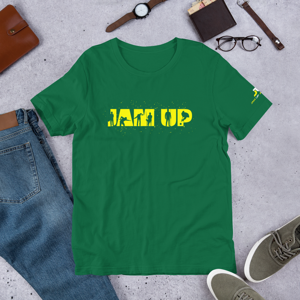 Jam Up Silhouette Tee Green