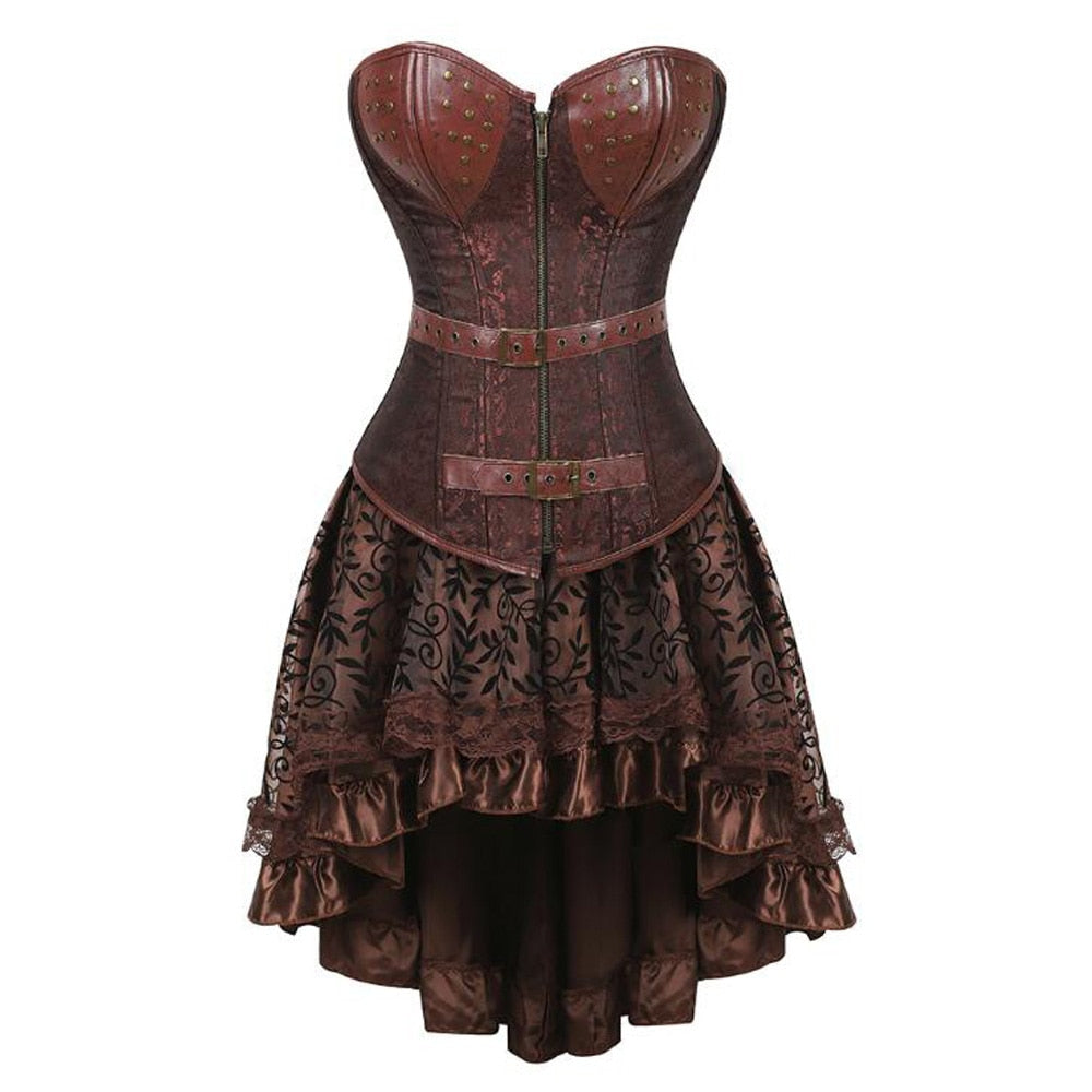 Gothic Corset Dress Plus Size Available