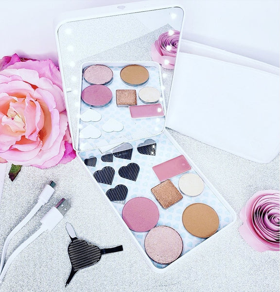 RIKI COLORFUL best rated travel makeup mirror