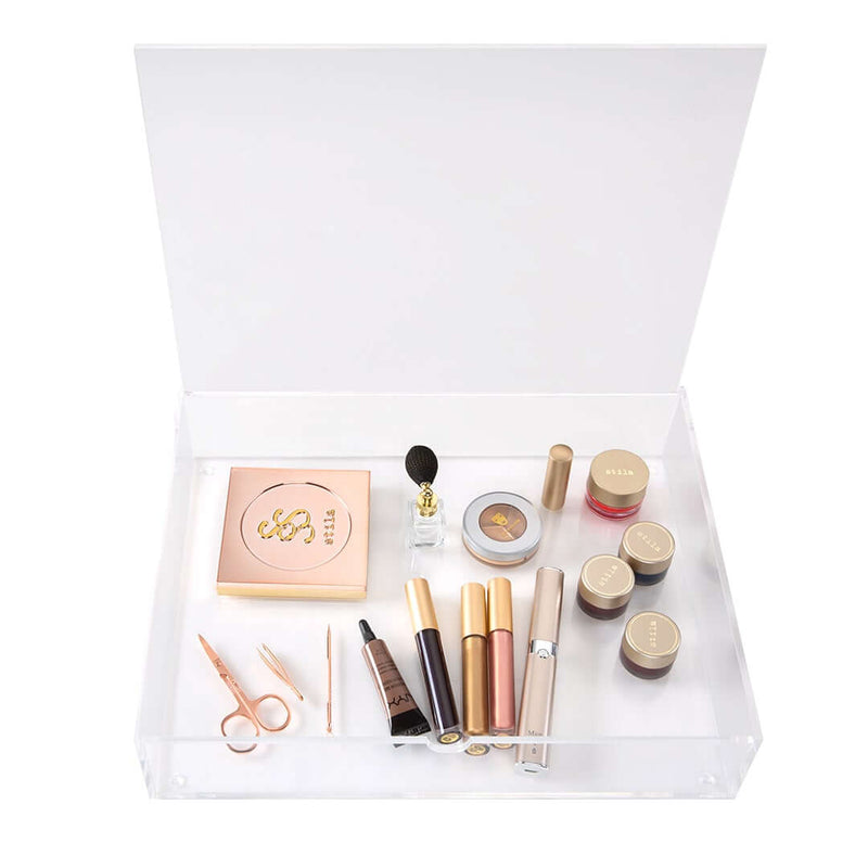 RIKI SKINNY + Acrylic Cosmetic Storage Box