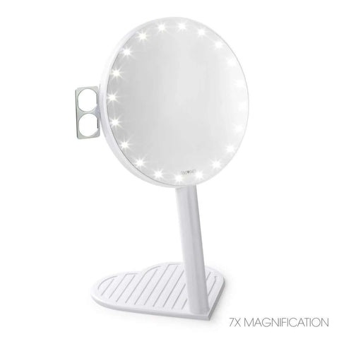 Best lighted magnifying vanity mirror - RIKI GRACEFUL