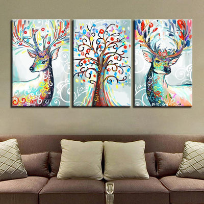 Colorful Deers