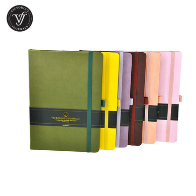 Venzi Hard Cover Journal Notebook ***Limited Stock***