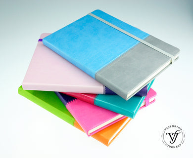 Duo Leatherette Hard Cover Notebook With Pen Loop ***Limited Stock***