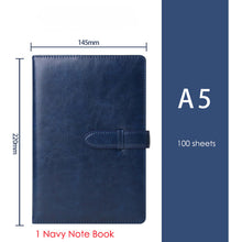 EZONE 1PC Business Pen Notes Journal Diary Planner Notepad for Kids Gifts Material Escolar Stationery School Office Supplies