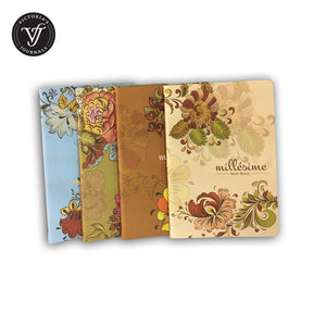 Vintage Style Soft Cover Thread Binding Notebook Journal
