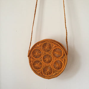 Kaanas Baranoa Purse in Marigold
