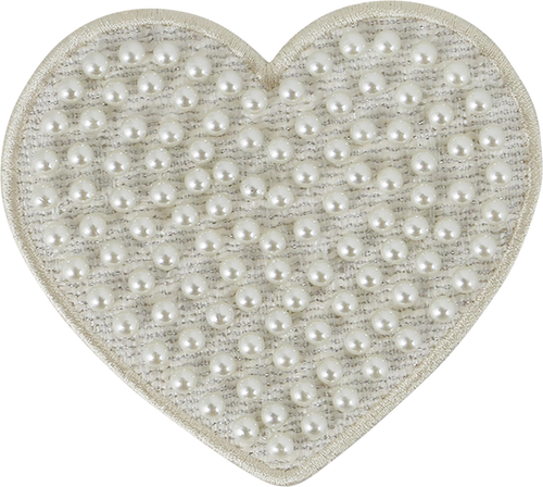 Stoney Clover Lane Jumbo Pearl Heart Patch